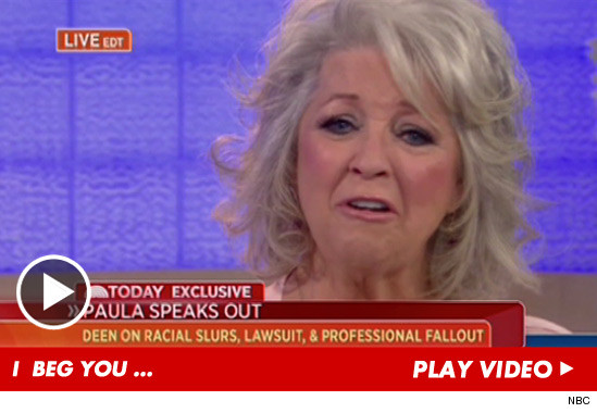 Paula Deen Speake Out!